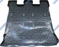 Коврик в багажник Volkswagen Sharan 1995-2010 (полимер, чёрный)