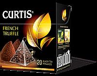 Чай черный в пирамидках со вкусом французского трюфеля Curtis French Truffle (Кертис), 20 пирамидок