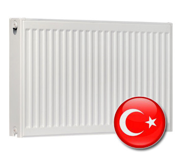 Стальной радиатор Турция 600х1400 тип 22