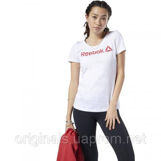 Женская футболка Reebok Running Reflective EC2027