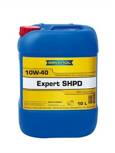 Моторное масло RAVENOL EXPERT SHPD SAE 10W-40 10L
