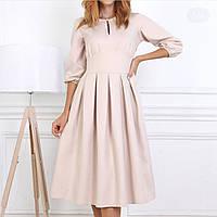 Модное красивое женское платье  (44-48), доставка по Украине