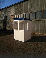 Кабинка для сторожа, пост охраны «Стандарт» 150 х 150 см