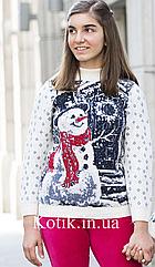 Свитер подростковый Pulltonic Снеговик