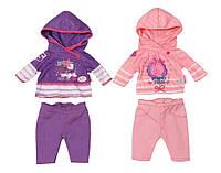 Спортивный костюм для куклы Беби Борн (2 цвета в асорт.) Спортивный малыш Baby Born Zapf Creation 3+ (822166)