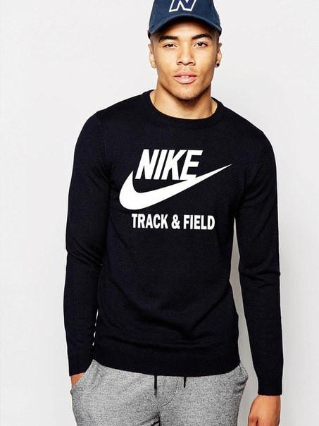 Мужской Свитшот Nike sportwear(большой принт)