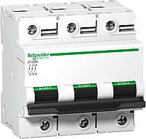 Автоматический выключатель C120N 3P 125A C Acti 9 Schneider Electric