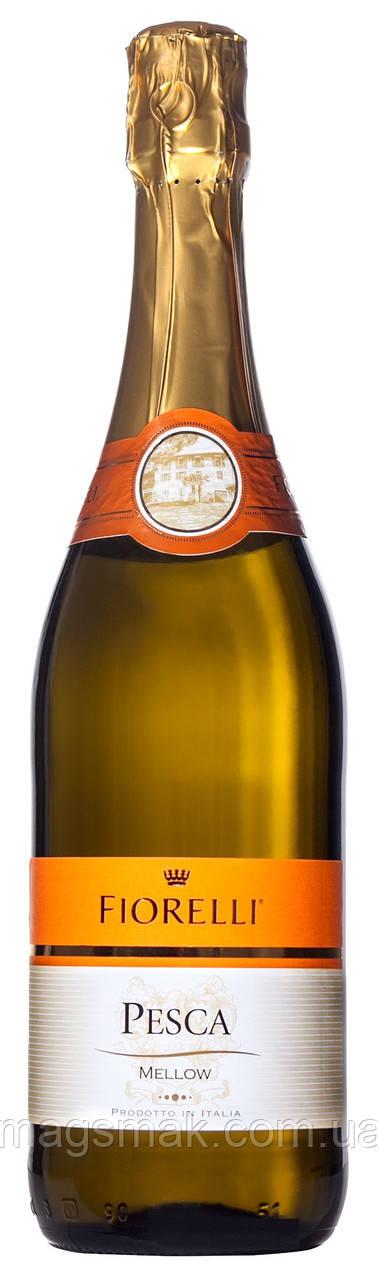 Фраголино Fiorelli Pesca Bianco белое сладкое 0.75 л 7%