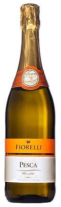 Фраголино Fiorelli Pesca Bianco белое сладкое 0.75 л 7%, фото 2
