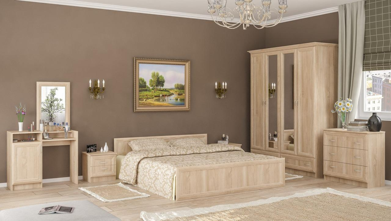 Спальня Мебель-Сервис «Соната»