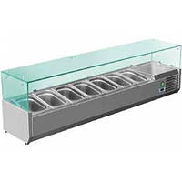 Настольная витрина саладетта SRV 1500/330 Rauder (салат-бар)