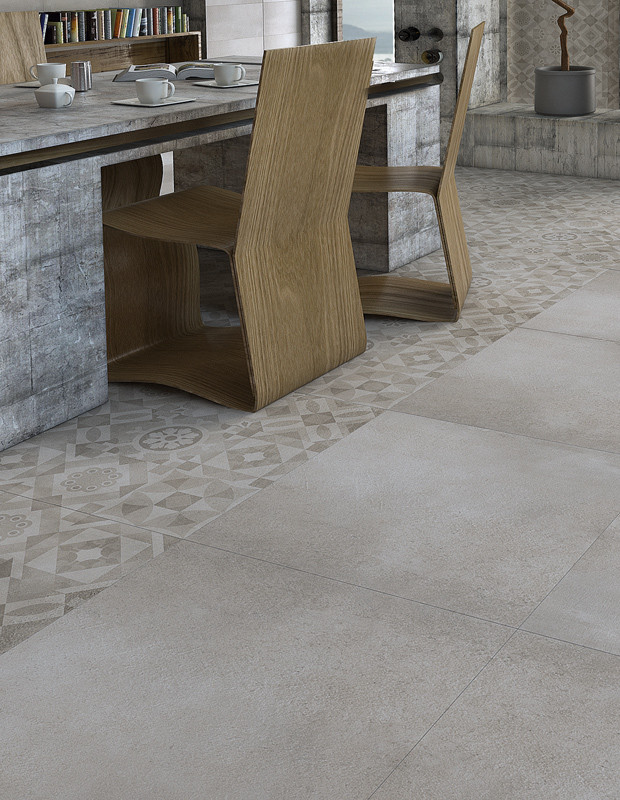 Плитка для підлоги Concrete димчастий 1200x600x10 мм