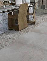 Плитка для пола Concrete темно серый 1200x600x10 мм
