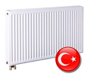 Стальной радиатор Турция 500х500 тип 22 нижнее подключение