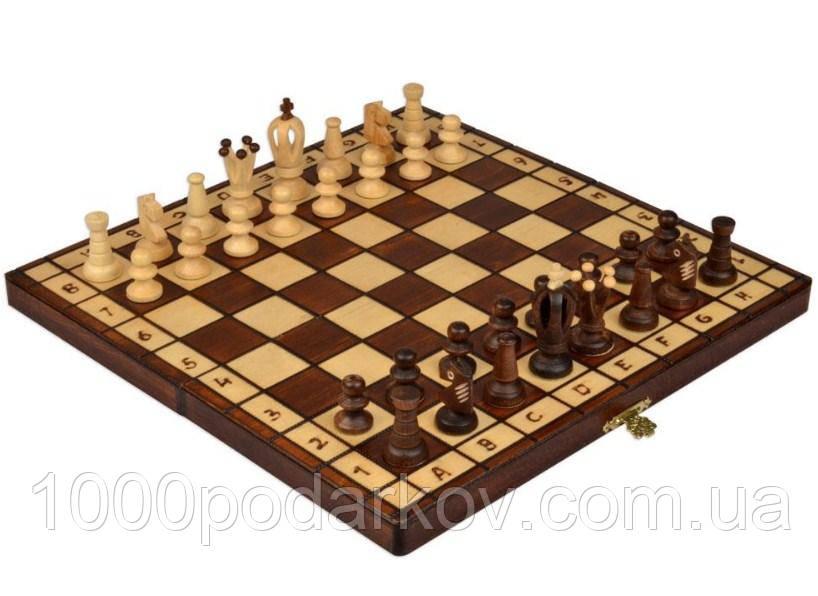 Шахматы 2022 ROYAL maxi, коричневые, фото 1