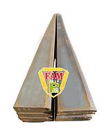 Нож ковша (режущая кромка) 2328х150х20  мм Liebherr 9068431 без отверстий