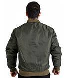 Куртка Лётная Chameleon MA-1 Olive, фото 3