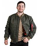 Куртка Лётная Chameleon MA-1 Olive, фото 4