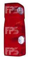 Фонарь задний для Volkswagen Crafter '06-11 правый (DEPO)