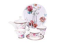 Фарфоровый чайный сервиз Камелия Lefard 16 пр-в 935-011