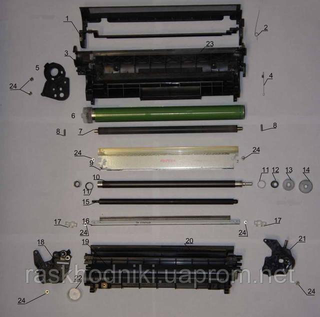 Дефекты печати лазерных картриджей