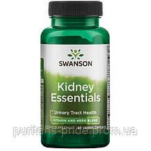 Для здоров'я нирок, Swanson Kidney Essentials 60 капсул