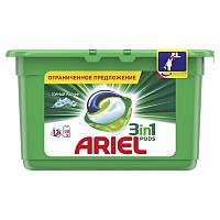 Капсулы для стирки Ariel 3 в 1 Горный Родник 13х27 г