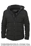 Куртка зимняя мужская HANDIGEFENG 20-9933 чёрная, фото 1