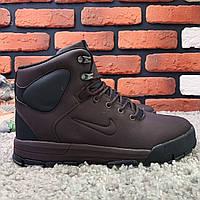 Зимние ботинки (на меху) мужские Nike Air Lunarridge (реплика) 1-021  ⏩ [ 41,42,43,44,44,45 ], фото 1