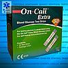 Тест-полоски для глюкометра On Call Extra / Он Колл Экстра 50 шт.