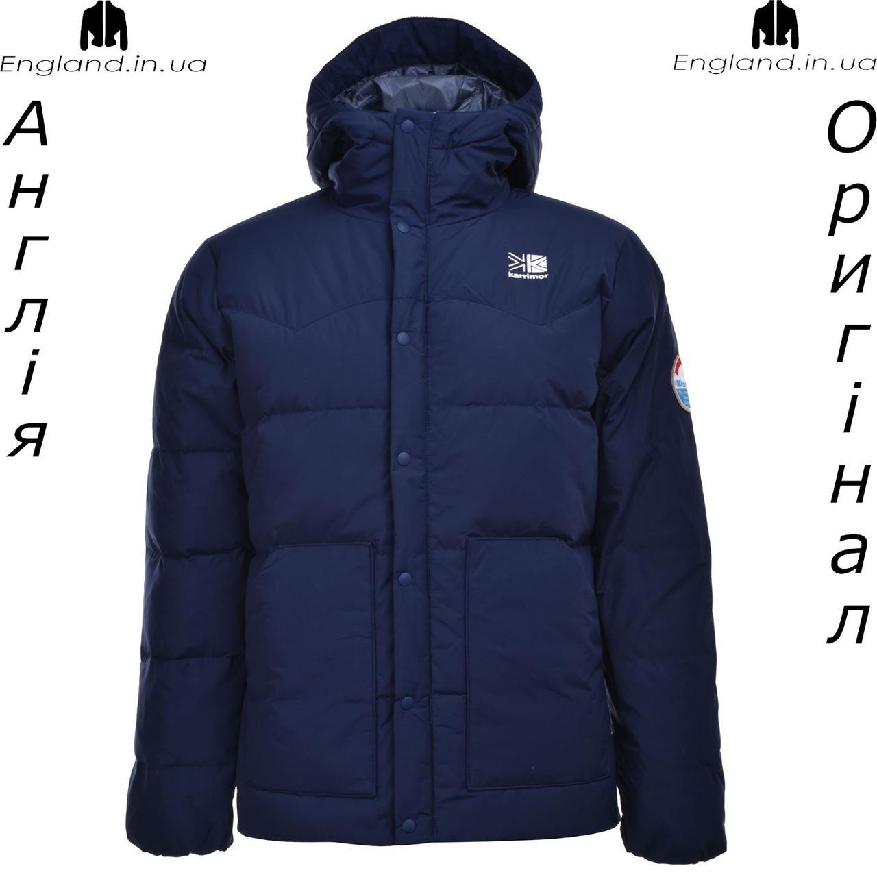 Куртка - парку чоловіча Karrimor з Англії - зимова на гусячому пуху