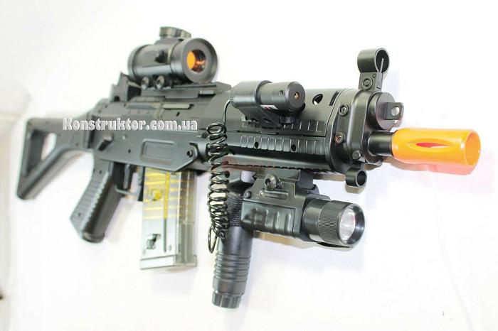 Автомат страйкбольный складной на аккумуляторе SIG SG 552 Commando
