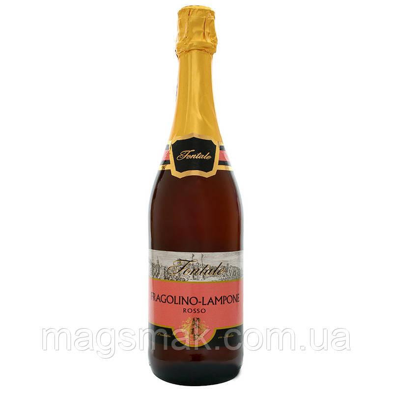 "Fontale ""Fragolino-Lampone Rosso"" Малина красное сладкое 0,75 л"