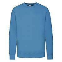 Модный мужской свитшот ультрамаринового (ярко-голубого) цвета под нанесение