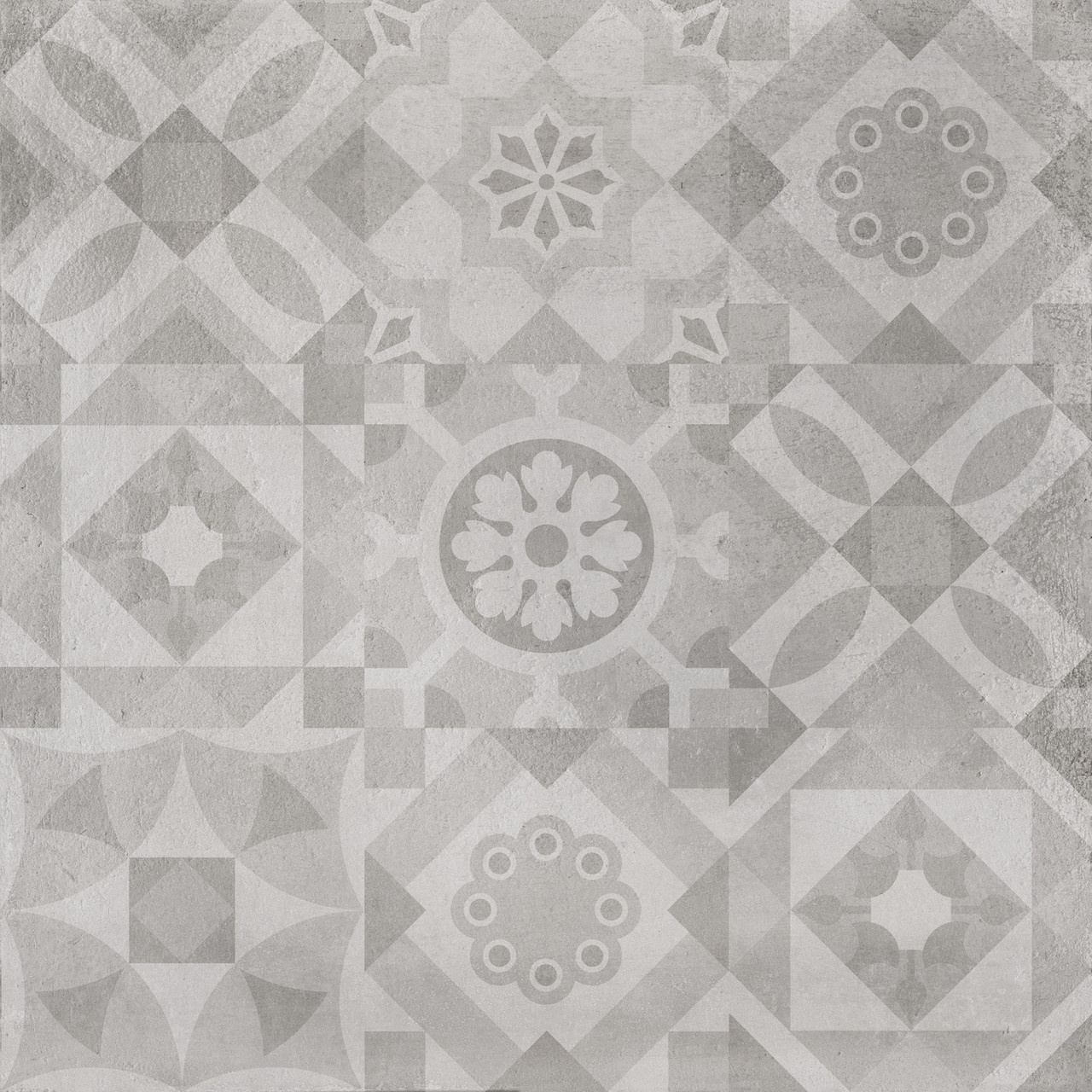 Плитка для підлоги Concrete Patchwork айс 600x600x10 мм