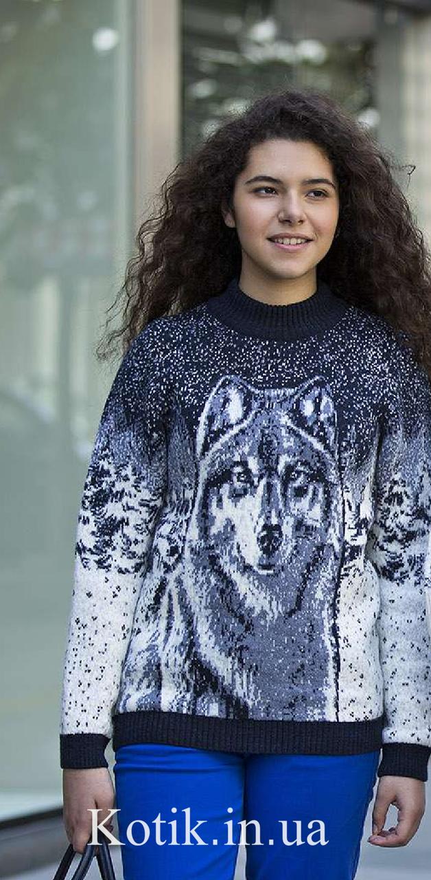 Свитер подростковый Pulltonic Волк