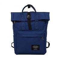Рюкзак роллтоп(Rolltop) для ноутбука синий Mojoyce(AV171)