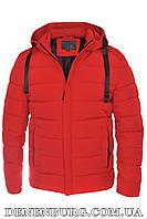 Куртка зимняя мужская HDGF 19-9978 красная, фото 1