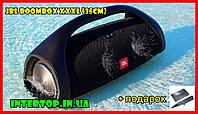 Портативная Bluetooth колонка JBL Boombox Big XXXL 35 см (10000мАч). Акустика ЖБЛ Бумбокс,большая с ручкой
