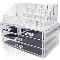 Акриловый органайзер для хранения косметики Cosmetic Storage Box, фото 3