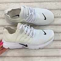 Кроссовки nike женские белые летние дышащие. Размеры: 37,38,40