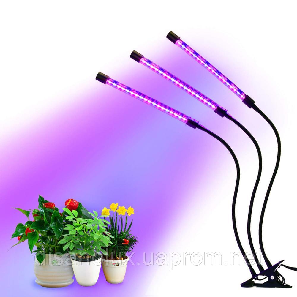 Фито светильник  прищепка  для растений Led  VGL -27W Full Spectrum  USB 5V
