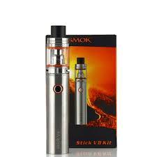 Электронная сигарета Smok Stick V8 Серый - Shopsale в Харькове