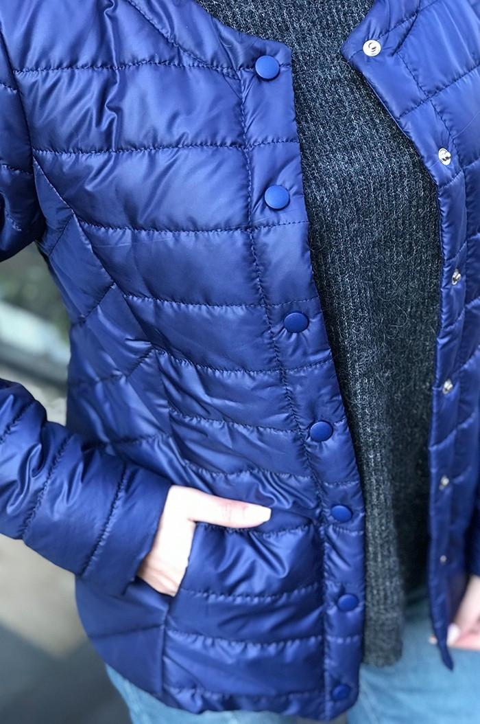 Женская демисезонная куртка на 100 синтипоне4расцв. (42,44,46,48,50р.)