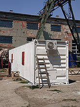 Готовый морской контейнер под жилье или офис