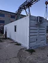 Готовый морской контейнер под жилье или офис, фото 2