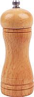 Перцемолка деревянная, мельница для перца и соли, с керамическим ножом для помола XL001 светлое дерево