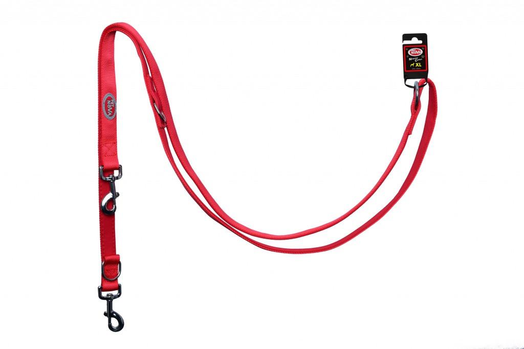 Поводок Pet Nova Adjust S 1.5 х 240 см Красный