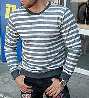 Стильный мужской свитшот в полоску, кофта. ТОП КАЧЕСТВО!!!, фото 1