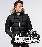 Подросток 13-17 лет   Зимняя куртка Braggart Teenager 73563 графит, фото 1